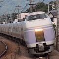 E351系特急スーパーあずさ中央本線韮崎~塩崎01
