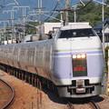 E351系特急スーパーあずさ中央本線韮崎~塩崎03