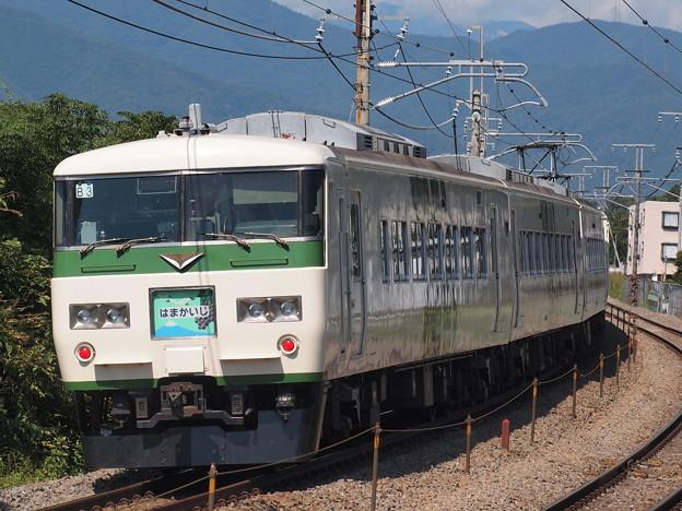 185系特急はまかいじ 中央本線韮崎~塩崎03