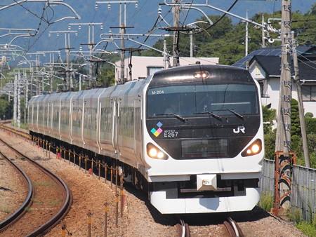 E257系特急あずさ中央本線韮崎~塩崎02