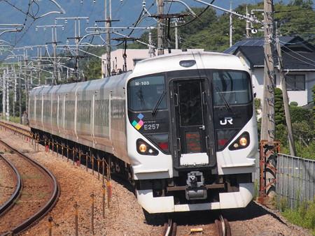 E257系特急あずさ中央本線韮崎~塩崎06