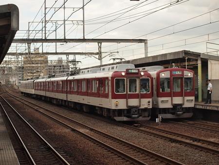 近鉄6020系準急 近鉄南大阪線今川駅03