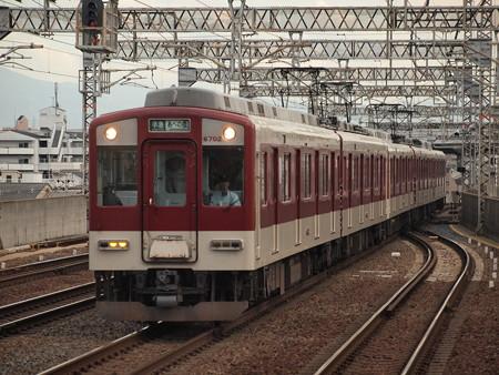 近鉄6400系準急 近鉄南大阪線今川駅01