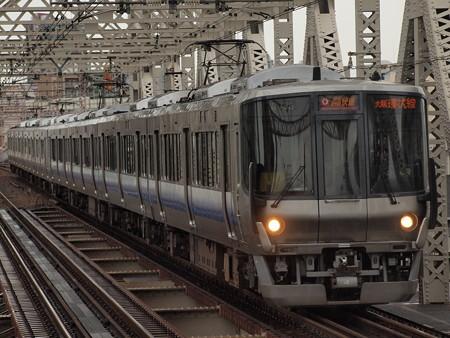 223系関空紀州路快速 大阪環状線大正駅