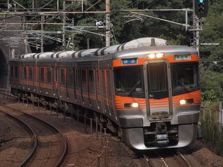 313系快速 中央本線古虎渓駅01