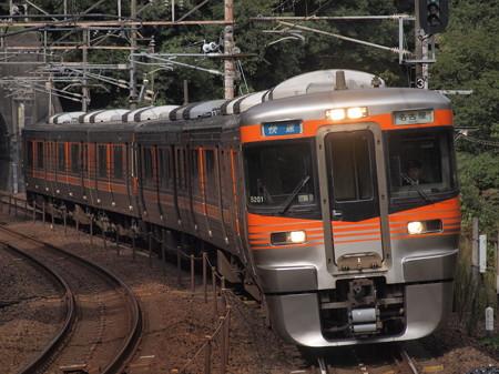 313系快速 中央本線古虎渓駅02