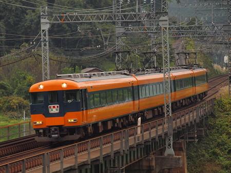 近鉄12200系特急 近鉄大阪線三本松~室生口大野