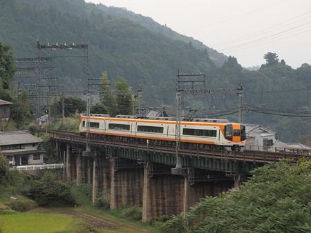 近鉄22000系特急 近鉄大阪線三本松~室生口大野