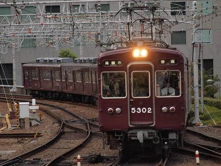 阪急5300系普通 阪急京都線梅田駅