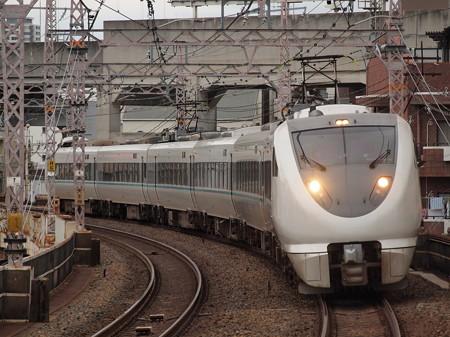289系特急くろしお  阪和線美章園駅01