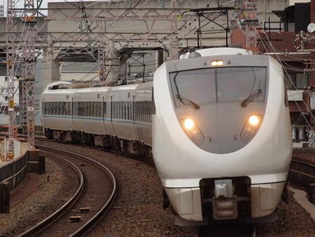 289系特急くろしお  阪和線美章園駅04