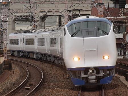 281系特急はるか  阪和線美章園駅01