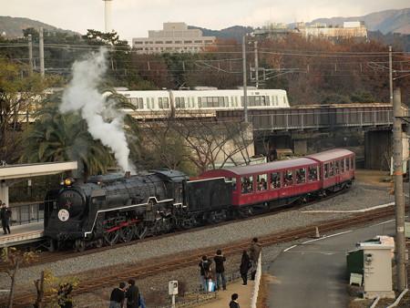C62 SLスチーム号 京都鉄道博物館05