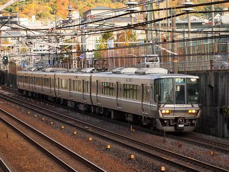 223系普通 東海道本線山科~京都02