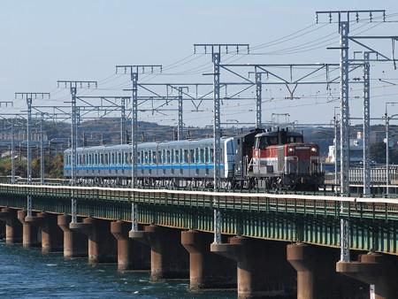 DE10 3000V形甲種 東海道本線新居町~弁天島01