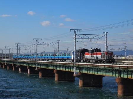 DE10 3000V形甲種 東海道本線新居町~弁天島02