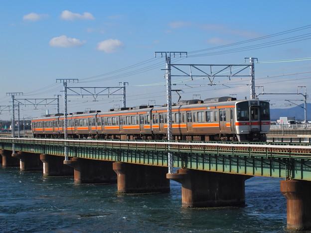 311系普通 東海道本線新居町~弁天島02