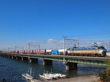 EF66貨物 東海道本線新居町~弁天島