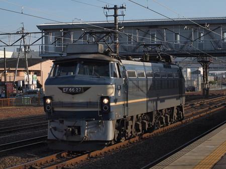 EF66単機 東海道本線清洲駅