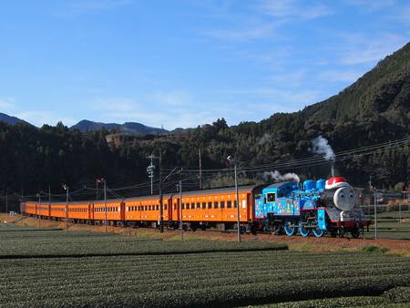 トーマス 大井川鉄道線家山~抜里01