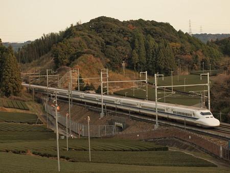 700系こだま  東海道新幹線掛川~静岡02