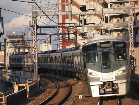 225系関空・紀州路快速 大阪環状線寺田町駅02