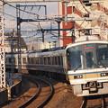 221系大和路快速 大阪環状線寺田町駅02