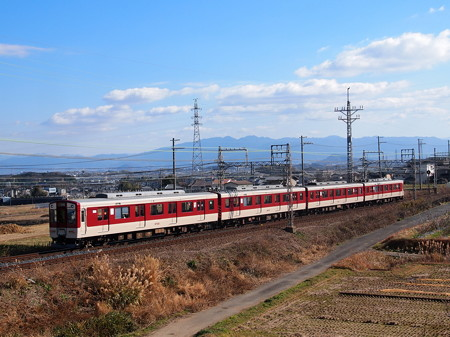 近鉄6600系急行 近鉄南大阪線二上山~二上神社口01