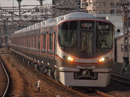 323系普通   大阪環状線野田駅01
