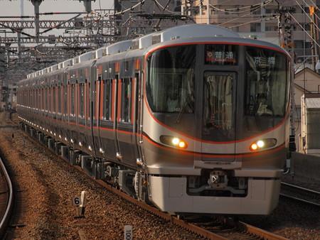 323系普通   大阪環状線野田駅02