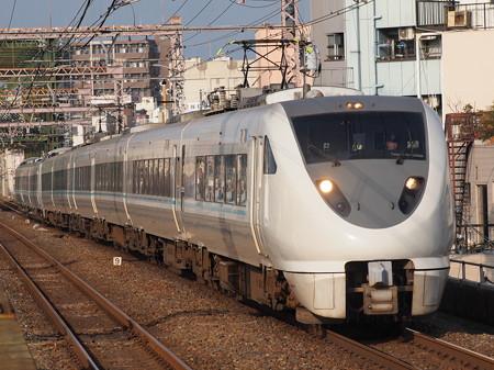 289系特急くろしお 大阪環状線大正駅01
