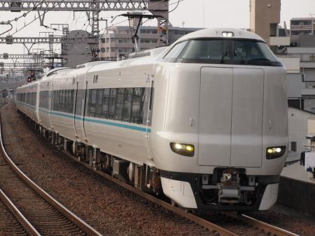 287系特急くろしお 大阪環状線野田駅