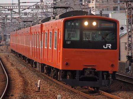 201系普通   大阪環状線野田駅03