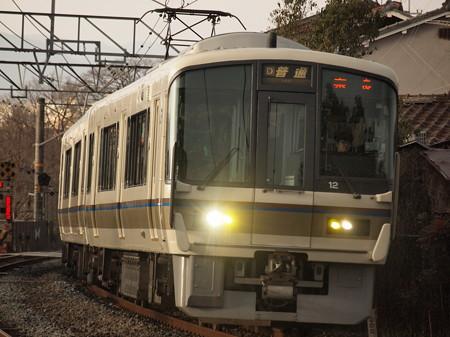 221系普通   奈良線稲荷~JR藤森03