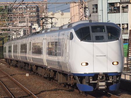 281系特急はるか  大阪環状線大正駅02