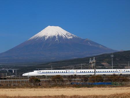 N700系のぞみ 東海道新幹線新富士~静岡01