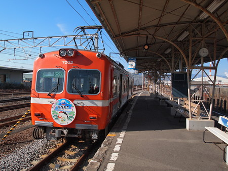 岳南鉄道7000形 岳南線吉原駅