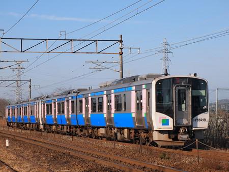 HB-E210快速  東北本線陸前山王~国府多賀城01
