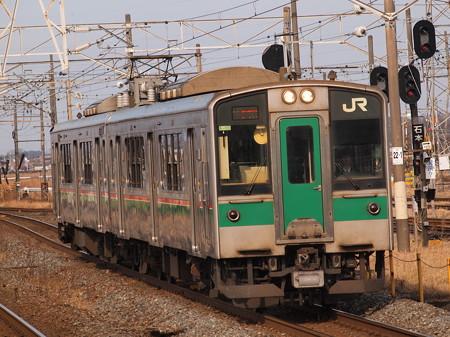 701系普通 東北本線小牛田駅01