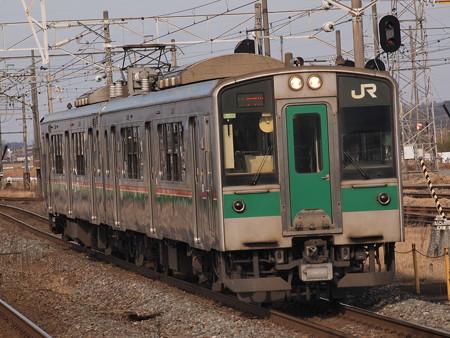 701系普通 東北本線小牛田駅02
