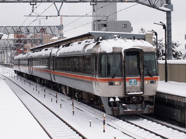 キハ85系ワイドビュー南紀 関西本線八田駅02