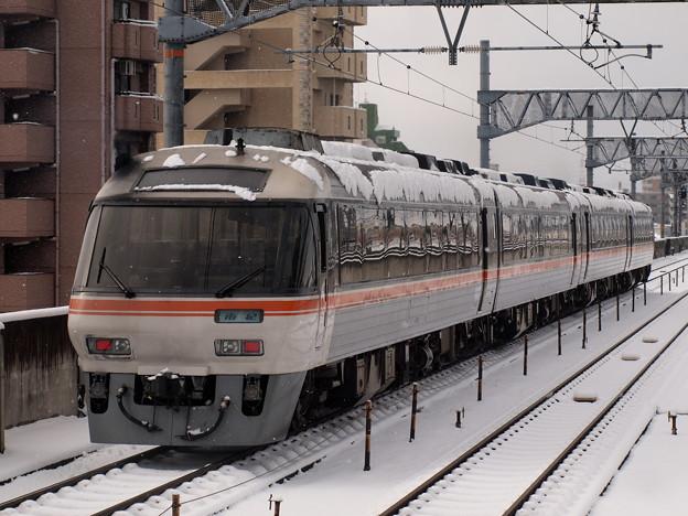 キハ85系ワイドビュー南紀 関西本線八田駅03