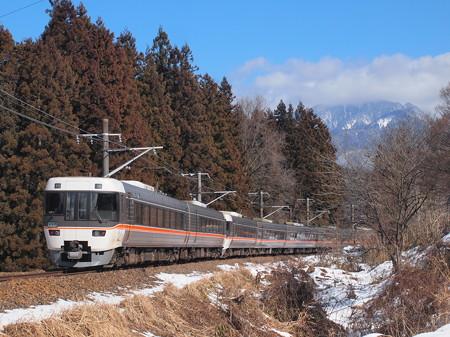 383系特急しなの  中央本線大桑~野尻02