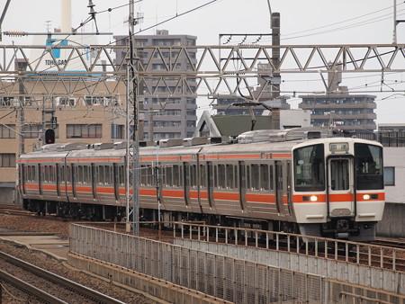 311系回送 東海道本線尾張一宮駅