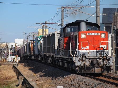 DD51貨物 関西本線富田~富田浜03