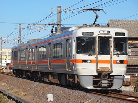 313系普通 関西本線富田~富田浜04