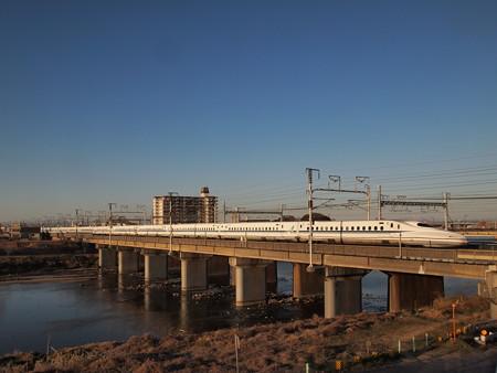 N700系のぞみ 東海道新幹線岐阜羽島~名古屋01