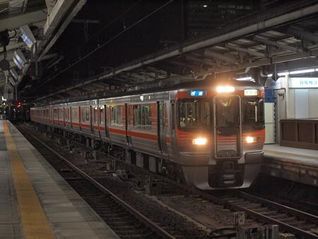 313系快速 中央本線名古屋駅01