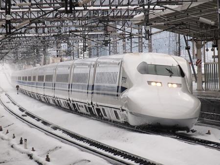 700系のぞみ  東海道新幹線米原駅01