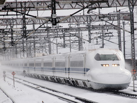 700系ひかり 東海道新幹線米原駅01